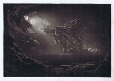 John Martin (1789-1854), 'Creation of Light', 1824
