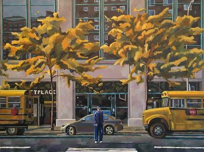 Nagib Nahas, 'Ninth Avenue - November', 2021