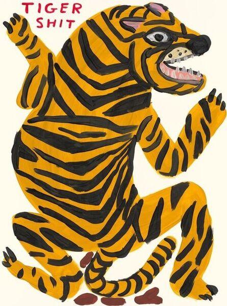 David Shrigley, 'Tiger Shit', 2021
