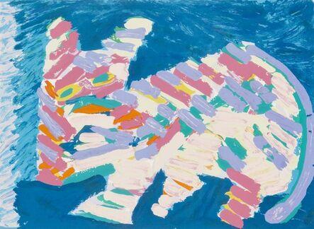 Karel Appel, 'Resting Cat', 1978