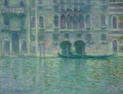 Claude Monet, 'Palazzo da Mula, Venice', 1908