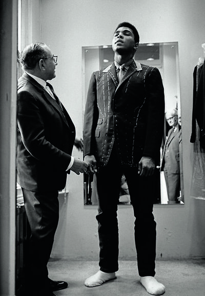Thomas Hoepker, 'Ali is measured for a suit, London', 1966