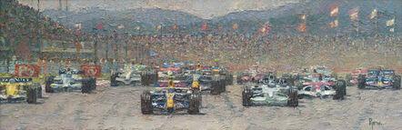 Pip Todd-Warmoth, 'Formula One Race', 2016