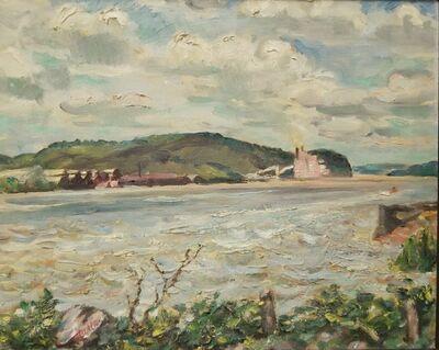 David Burliuk, 'A Seascape', ca. 1930