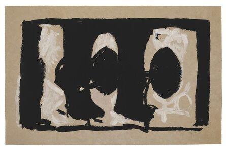 Robert Motherwell, 'Elegy Study I', 1989