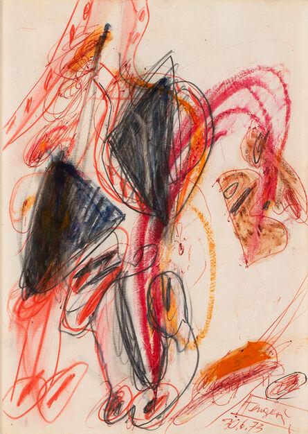 Walter Stöhrer, 'Untitled (30.6.1973)', 1973
