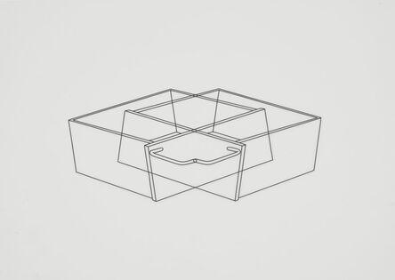 Michael Craig-Martin, 'Untitled (drawers 6)', 1990