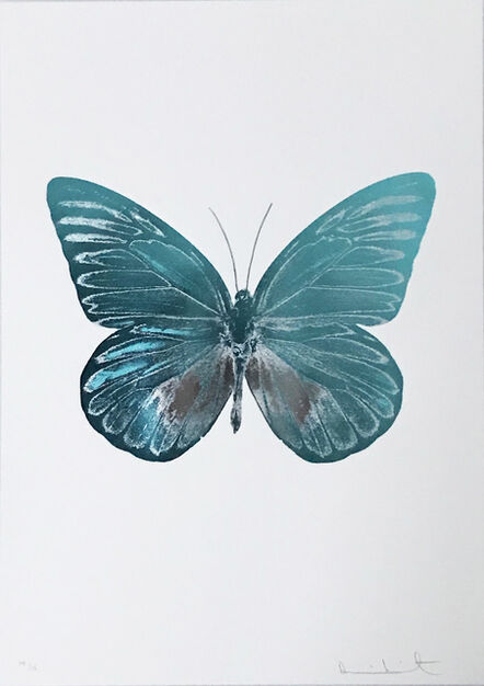 Damien Hirst, 'The Souls I, Topaz - Silvergloss', 2010