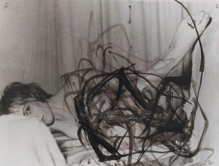 Arnulf Rainer, 'Verdeckter Blick', 1977
