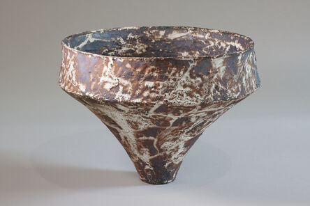 Akihiro Nikaido, 'ceramic vase mashiko rust', ca. 2013