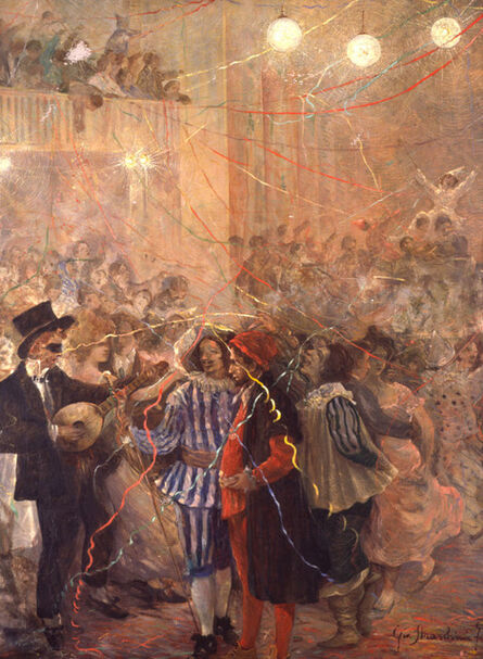 Giovanni Marchini, 'The Carnival', 1915