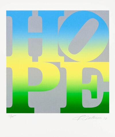 Robert Indiana, 'Four Seasons of Hope: Summer (Silver)', 2012