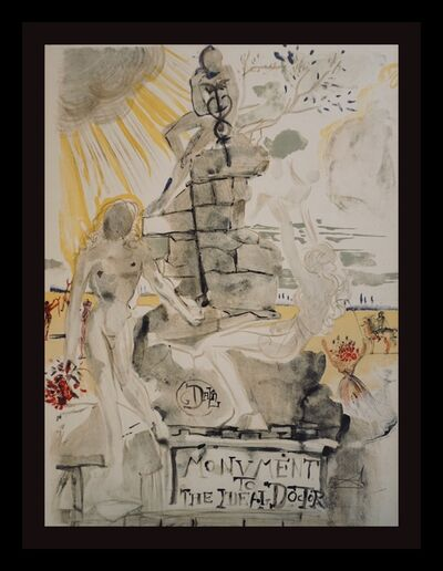 Salvador Dalí, 'Monument To The Idea Doctor', 1973