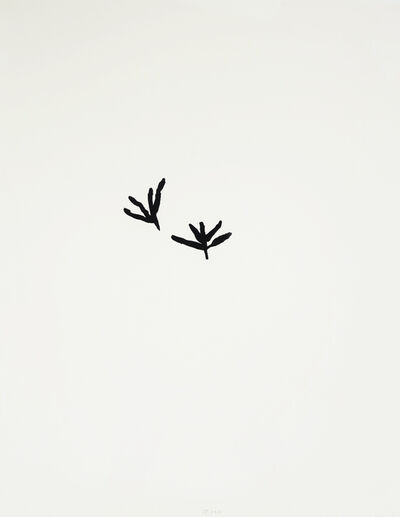 Jürgen Partenheimer, 'Seeds and Tracks #6', 2012