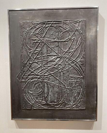 Jasper Johns, '0 through 9, from Lead Reliefs', 1970