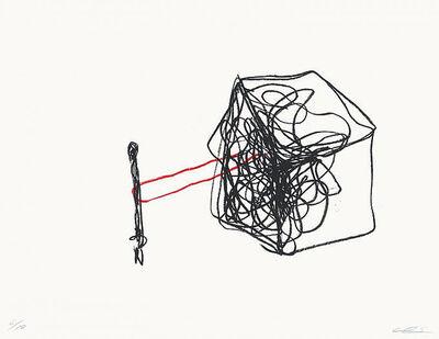 Chiharu Shiota, 'House of Red Line', 2015