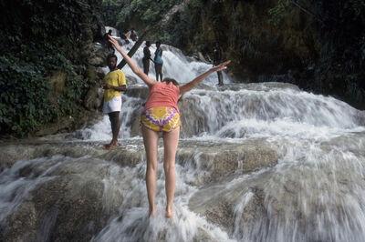 The Family Acid, 'Mom at Dunn's River Falls, Ocho Rios, Jamaica, June 20, 1976', 1976