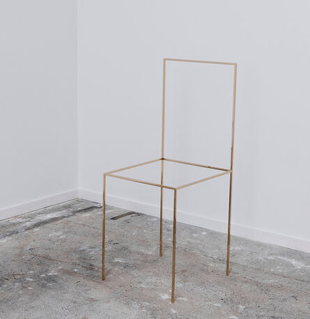 Ron Gilad, 'Gold chair', 2012