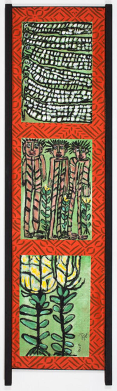Jose Nunez, 'Untitled (Pajaros y Flores)', 2017