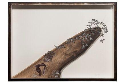 Wu Jian'an 邬建安, 'Steading the Mountain No.2 - Lotus Cliff', 2014