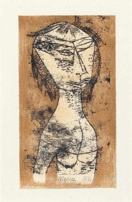 Paul Klee, 'Die Heilige vom innern Licht, from Bauhaus-Drucke. Neue europäische Graphik. Erste Mappe. Meister des Staatlichen Bauhauses in Weimar', 1921