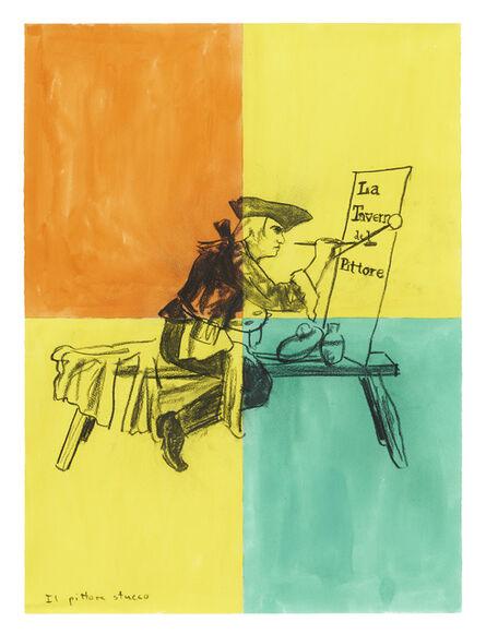 Troels Wörsel, 'Il pittore stucco', 1997