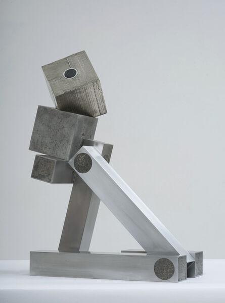 Siobhan Hapaska, 'cube of fools in a matrix', 2014