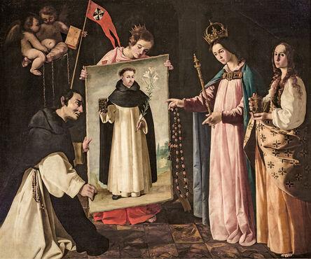 Francisco de Zurbarán, 'Santo Domingo en Soriano (The Apparition of the Virgin to a Monk of Soriano)', ca. 1626-1627