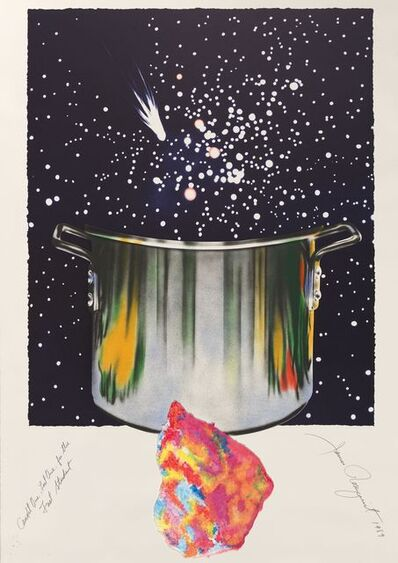 James Rosenquist, 'Caught one lost one for the fast student or star catcher', 1989