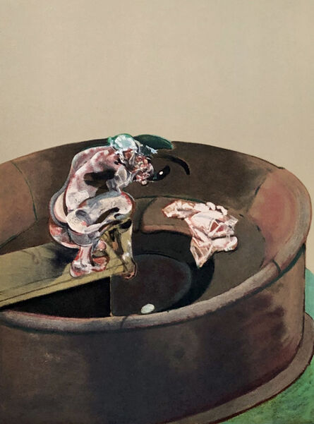 Francis Bacon, 'Francis Bacon Portrait of George Dyer Crouching, lithograph 1966', 1966