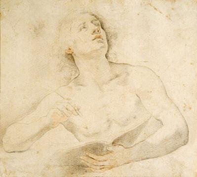 Carlo Dolci, 'Study for Saint John the Evangelist', 1671