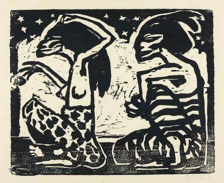 Emil Nolde, 'Mann und Weibchen (Man and Female)', 1912