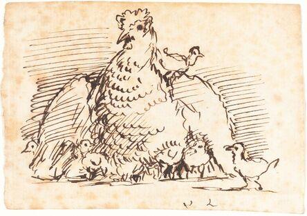John Linnell, 'Hens and Chicks'