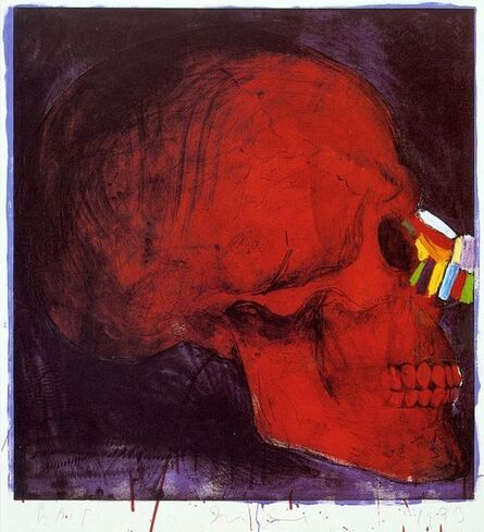 Jim Dine, 'Grease, Bone and Color', 1993