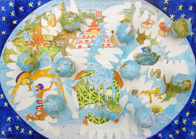 Nobuaki Takekawa, 'Globes of Okeanos', 2012