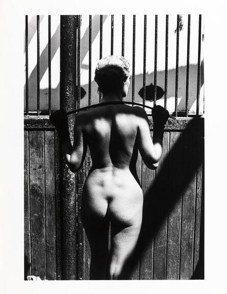 Helmut Newton, 'Rosalyn at Arcangue', 1975