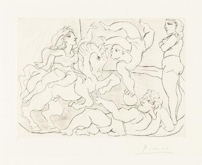 Pablo Picasso, 'The Circus. Practice', 1933