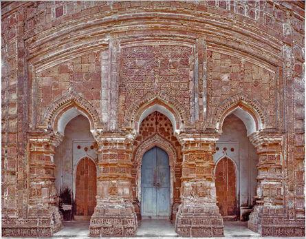 Laura McPhee, '3 Portals, 16th Century Terracotta Temple, Attpur, West Bengal, India', 1998