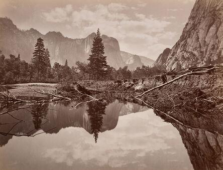 Charles Leander Weed, 'Looking down Yosemite Valley', ca. 1872