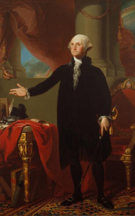 Gilbert Stuart, 'George Washington', 1796