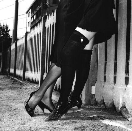 Helmut Newton, 'Rich Girls, Bordighera, Italy', 1982