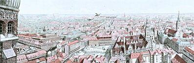 Richard Haas, 'View of Munich (Szoke, 80)', 1978