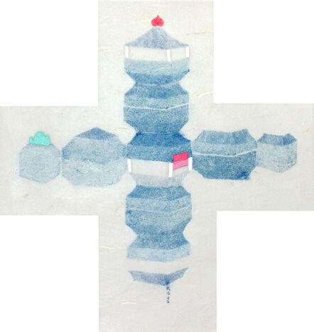 Fan Cheng, 'Elan bleu-7', 2014