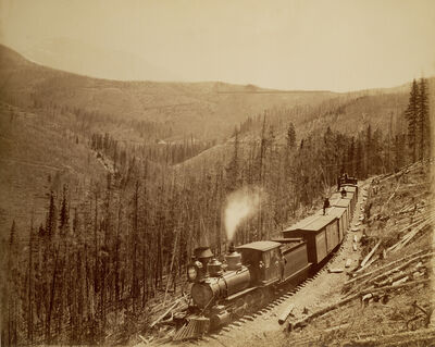 William Henry Jackson, 'Marshall Pass, Westside', 1880-1881