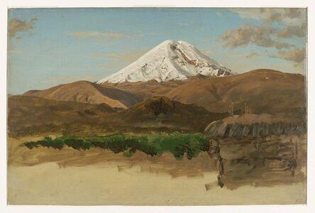 Frederic Edwin Church, 'Study of Mount Chimborazo, Ecuador', 1857