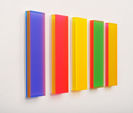Regine Schumann, 'Color Mirror Satin Chicago', 2014