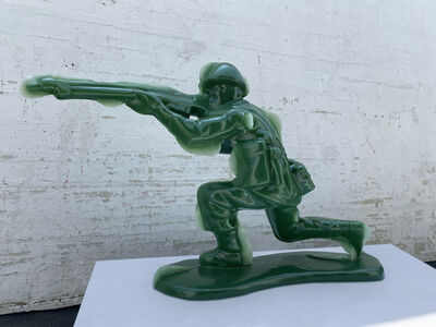 Yoram Wolberger, 'Toy Soldier #5 (Kneeling Position)', 2020