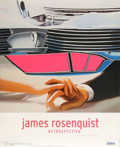 James Rosenquist, 'James Rosenquist Retrospectiva, Guggenheim Bilboa Museum Poster', 2004