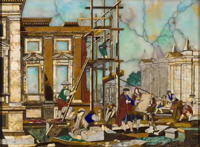 Giuseppe Zocchi, 'Pietre Dure of Architettura', Early 19th Century