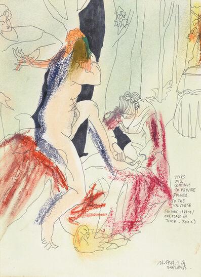 Anne-Mie Van Kerckhoven, 'Stars Will Continue', 2015
